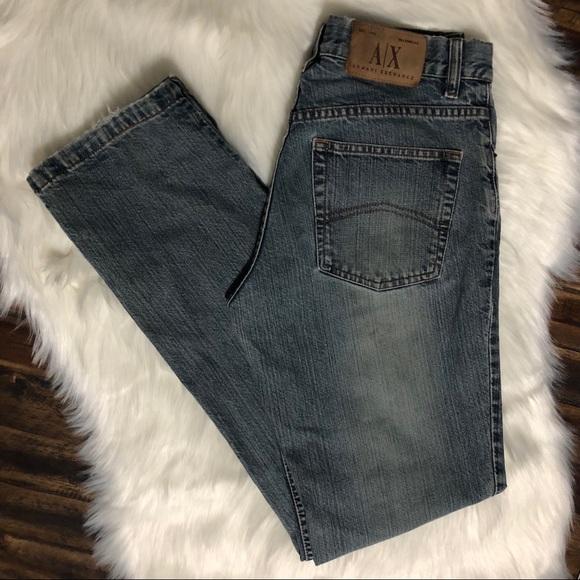 Armani Exchange Denim - Armani Exchange Jeans Straight Leg size 6 #5J40ZMA